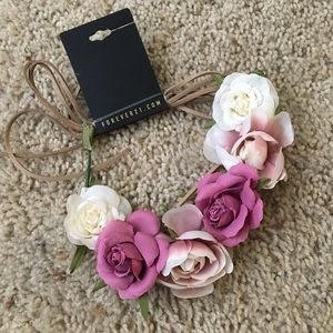 💗NWT💗 Forever 21 Faux Rose Headband